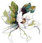 Click for more details of Magnolia (cross-stitch pattern) by Green Apple