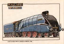 Click for more details of Mallard (cross stitch) by Dave Shaw