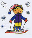 Click for more details of Mambi Minis - Winter Kids (paper) by Me & My Big Ideas