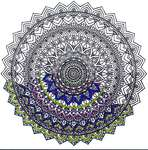 Click for more details of Mandala Zenembroidery (embroidery) by Design Works