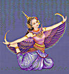 Click for more details of Manorah Thai Dancer (cross-stitch pattern) by Pinn Stitch