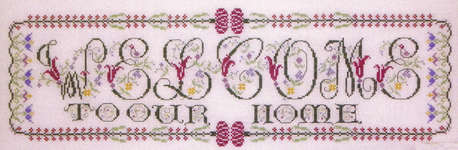 Click for more details of Many Many Welcomes (cross-stitch pattern) by Rosewood Manor