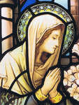 Click for more details of Mary Praying (cross-stitch) by Heaven and Earth Designs