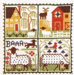 Click for more details of May (cross-stitch pattern) by The Prairie Schooler