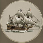 Click for more details of Mayflower (cross-stitch) by Dave Shaw