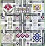 Click for more details of Maze (cross-stitch pattern) by The Workbasket
