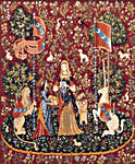 Click for more details of Medieval Picture (tapestry kit) by Glorafilia