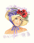 Click for more details of Megan (cross-stitch kit) by John Clayton