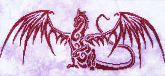 Click for more details of Messenger (cross-stitch pattern) by Fire Wing Designs