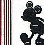 Click for more details of Mickey Milano (cross-stitch kit) by Disney by Anchor