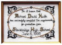 cross stitch patterns for graduations