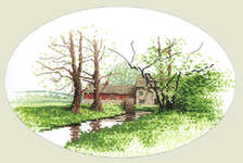 Click for more details of Mill House (cross-stitch pattern) by John Clayton