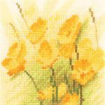 Click for more details of Mini Buttercups (cross-stitch kit) by John Clayton