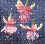 Click for more details of Mini Fuchsia (cross-stitch kit) by John Clayton