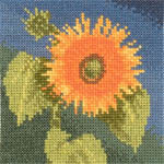 Click for more details of Mini Sunflower (cross-stitch kit) by John Clayton