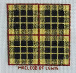 Click for more details of Minikit - McLeod of Lewis Tartan (cross-stitch kit) by Abacus Designs