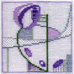 Click for more details of Minuets - Rosebud (cross-stitch kit) by Rose Swalwell