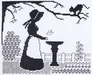 Click for more details of Mischief in the Air (blackwork pattern) by Classic Embroidery
