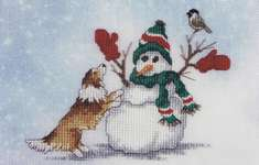 Click for more details of Mitten Games (cross stitch) by Crossed Wing Collection