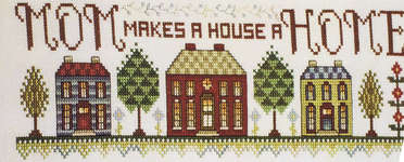 Click for more details of Mom makes a Home (cross-stitch pattern) by Stoney Creek