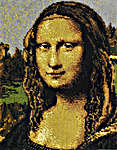 Click for more details of Mona Lisa by Leonardo da Vinci (cross-stitch pattern) by The Fine Arts Heritage Society
