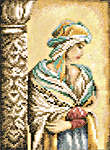Click for more details of Moorish Woman small (cross-stitch kit) by Lanarte