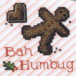 Click for more details of More Bah Humbug (cross stitch) by Sue Hillis Designs