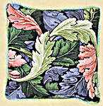 Click for more details of Morris Acanthus Cushion (tapestry kit) by Glorafilia