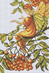 Click for more details of Mountain Ash Fairy (cross-stitch) by Luca - S