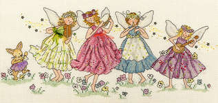 Click for more details of Musical Whispers (cross-stitch) by Bothy Threads