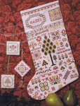 Click for more details of My Granddaughter's Stocking (cross-stitch pattern) by Rosewood Manor