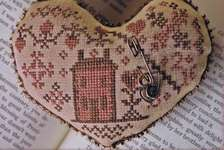Click for more details of My Heart is Home (cross stitch) by Blackbird Designs