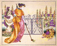 Click for more details of My Lady's Garden (cross-stitch) by Mirabilia Designs