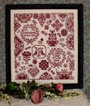Click for more details of My Token of Love (cross stitch) by Rosewood Manor