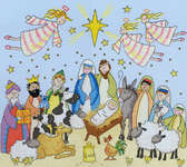 Click for more details of Nativity (cross-stitch kit) by Bothy Threads