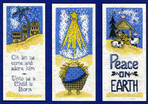 Click for more details of Nativity Trio (cross stitch) by Imaginating