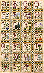 Click for more details of Nature's Alphabet (cross-stitch pattern) by Elizabeth Foster