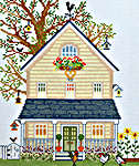 Click for more details of New England Homes - Summer (cross stitch) by Bothy Threads