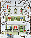 Click for more details of New England Homes - Winter (cross stitch) by Bothy Threads