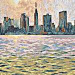 Click for more details of New York Empire State from Queens (cross-stitch) by maia