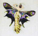 Click for more details of Night Nymph (cross stitch) by Mirabilia Designs