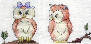 Click for more details of Noah's Ark Baby Afghan (cross-stitch pattern) by Graphworks International