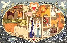 Click for more details of Noah's Ark (cross stitch) by Ginger & Spice