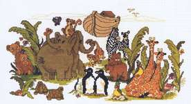 Click for more details of Noah's Ark (cross-stitch pattern) by Kappie Originals