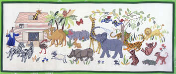 Click for more details of Noah's Ark (cross-stitch kit) by Eva Rosenstand