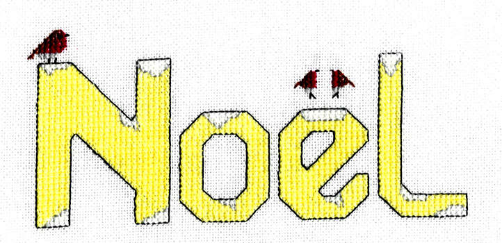 Click for more details of Noel (cross-stitch) by Anne Peden