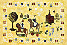 Click for more details of Norsk Fairytale (cross-stitch pattern) by Ink Circles