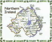 Click for more details of Northern Ireland (cross stitch) by Sue Ryder