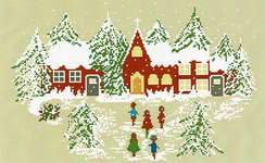 Click for more details of Notte di Natale - Christmas Eve (cross stitch) by Lilli Violette