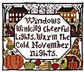 Click for more details of November (cross stitch) by The Prairie Schooler